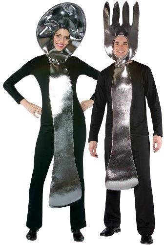 Fork and Spoon Halloween Costume for Couples