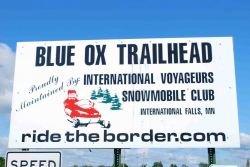 Blue Ox Trailhead