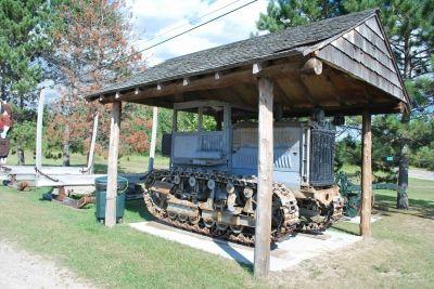 History display at Big Falls