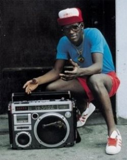 history of ghetto blaster