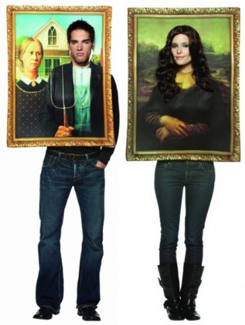 Picture Frame / Portrait Halloween Costume for Couples
