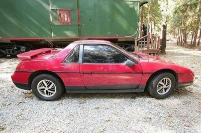 Pontiac's 1984 fake Ferrari...The Fiero!