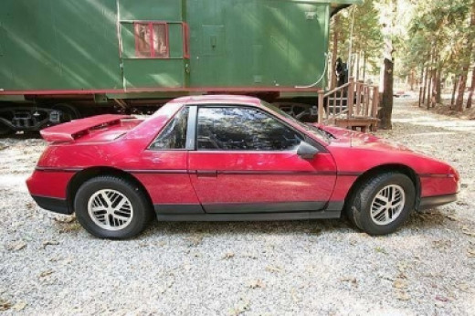 Pontiac's 1984 fake Ferrari...The Fiero!
