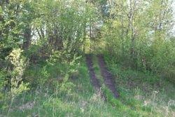 ATV trail over McKinstry Mound I