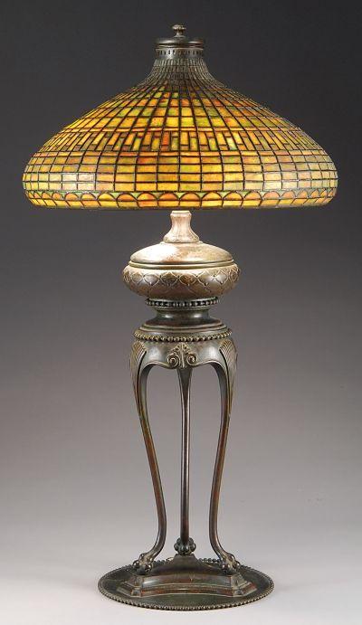 Old fashion Mosaic Lamp