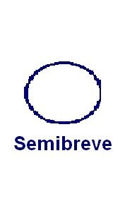 This is a 4 beat note called a semibreve or whole note.