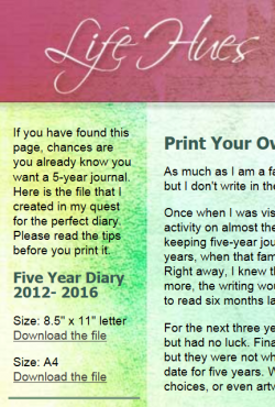 My five-year journal file is available on this webpage.