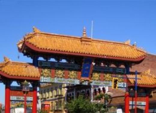 The Gates of Harmonious Interest in Chinatown, Victoria