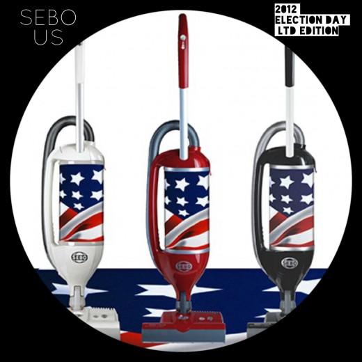 SEBO Felix Fun Vacuum Limited model for 2012 Elections