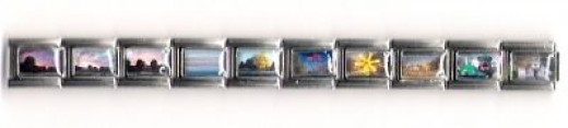 9mm Italian charms