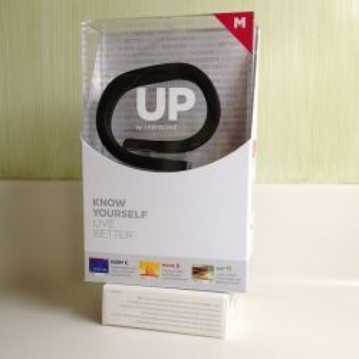 Photo Credit: iPhone pic of UP Band in Package