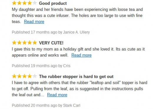 Arta Tea Leaf Infuser review
