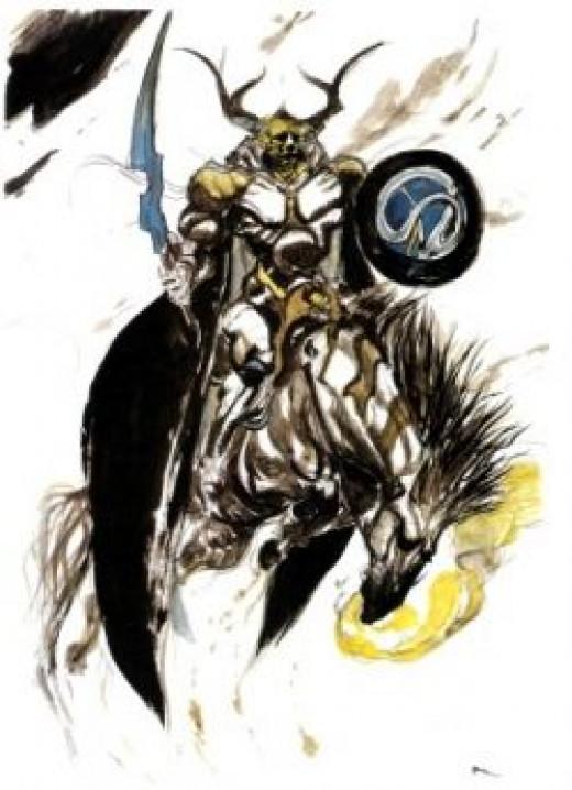 Norse God Odin in Final Fantasy