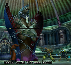 Defeating Anima: Seymour Boss Battle Final Fantasy X