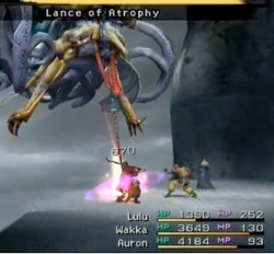 Final Fantasy X Bosses Levelskip