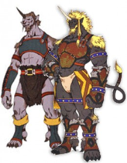 Final Fantasy X Boss: Biran and Yenke