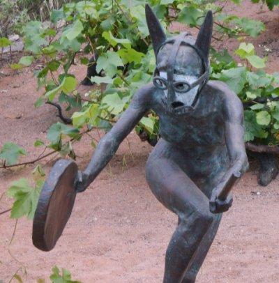 Tim Shaw - dancing Maenad