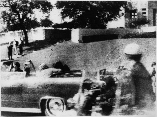 The shooting of John Kennedy.