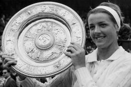 Margaret Court's first Wimbledon win on margaretcourttelevision.org