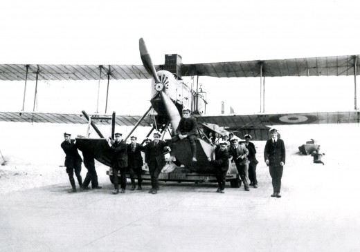 George William Jackson and aircraft in World War One