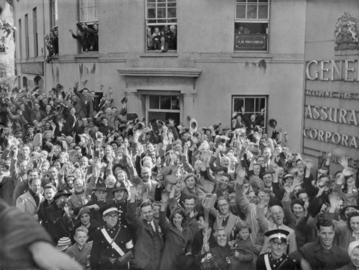 Liberation in 1945