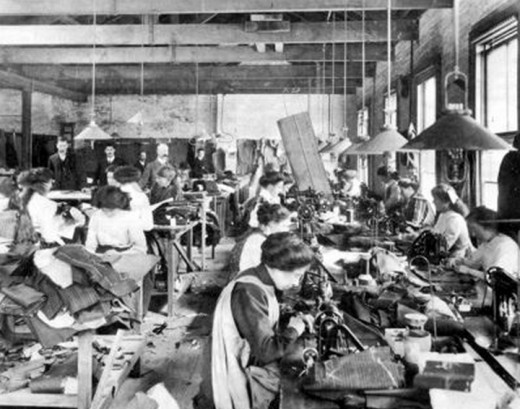 This however is a photograph of the Triangle Shirtwaist Factory.