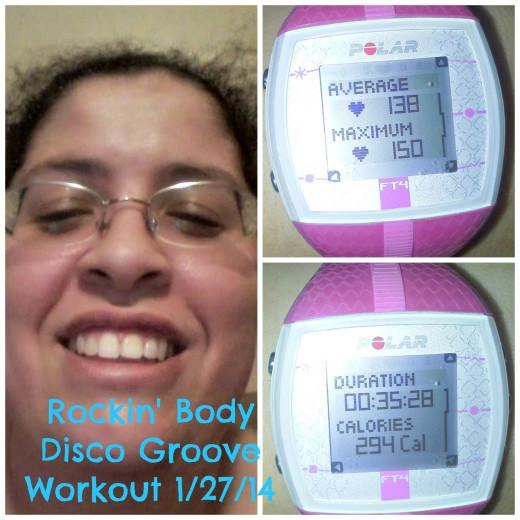 Favorite Rockin' Body workout so far