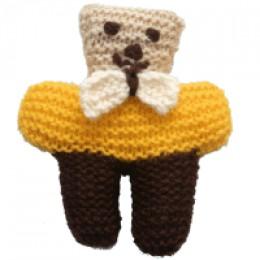 Knitted bear (c) BurundiBear.com