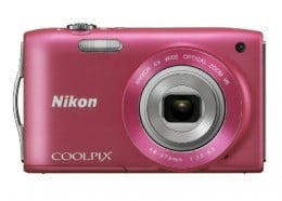 Nikon COOLPIX S3300 16 MP Digital Camera with 6x Zoom NIKKOR Glass Lens and 2.7-inch LCD (Pink)