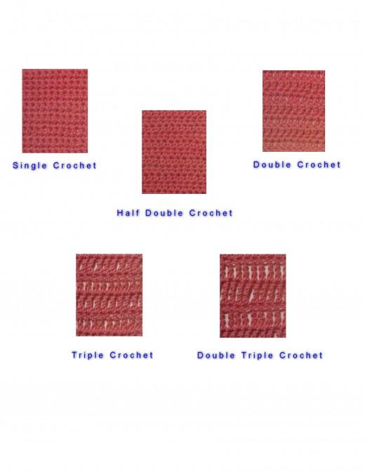 Crochet Samples