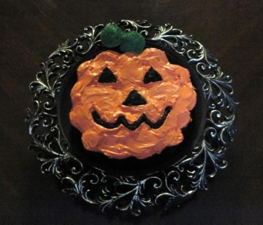 Cupcake Pumpkin
