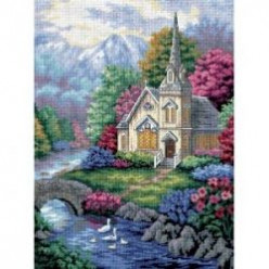Religious Beaded Cross Stitch Kits