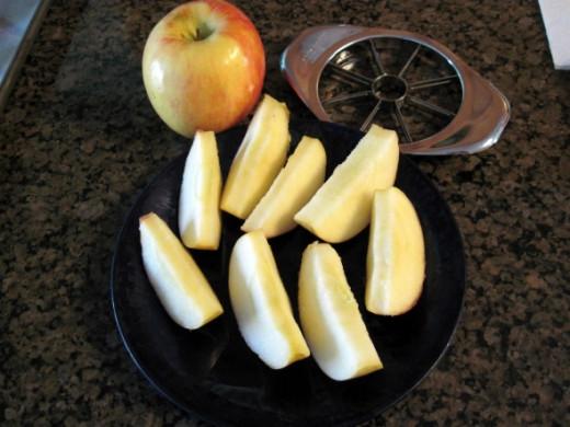 Wash and Slice Apple