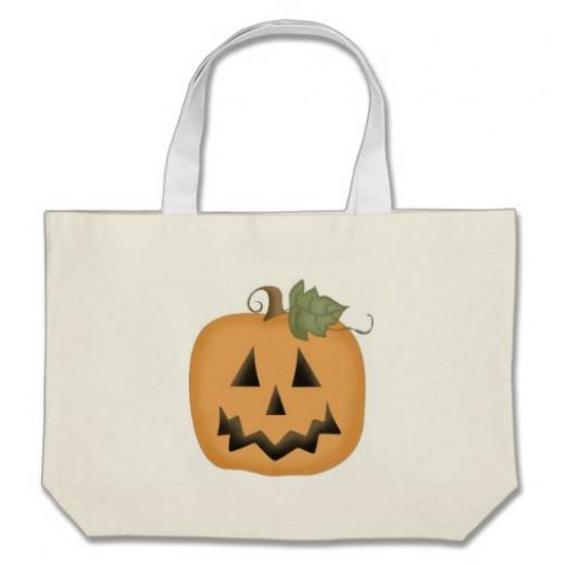 Jack-O-Lantern Tote Bag by BuckHawk