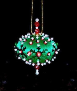 How to Make Your Own Beaded Ornaments In The House Of Sylvestermouse