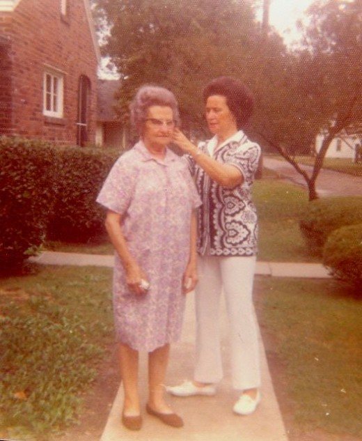 My Grandmother & My Great Grandmother