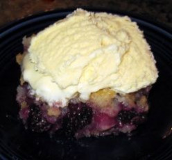Easy Blackberry Cobbler Recipe