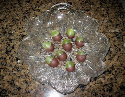 Chocolate Covered Grapes