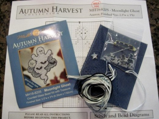 A Close Look at What is Inside the Cross Stitch Kit