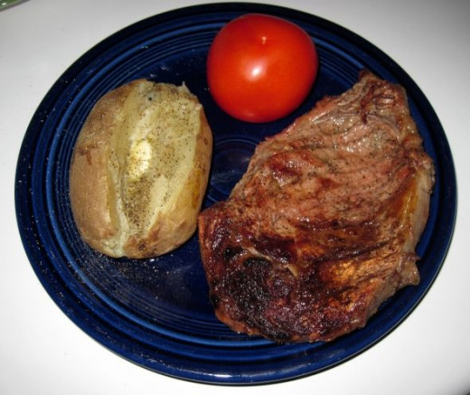 Steak & Baked Potato