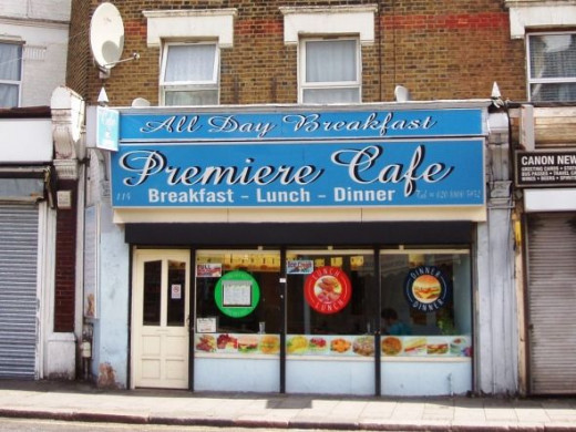 Premiere Cafe, South Tottenham, N15