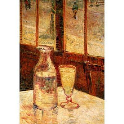 Still life with absinthe - Van Gogh
