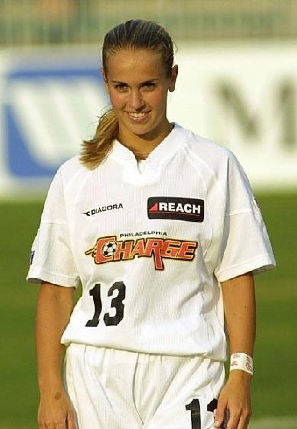Heather Mitts soccer action photos