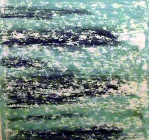 horizontal swathes of colour