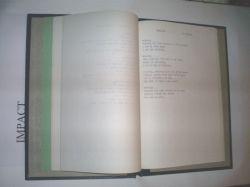 my notebook of song lyrics