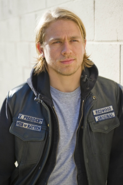 Charlie Hunnas as Jax on Sons of Anarchy