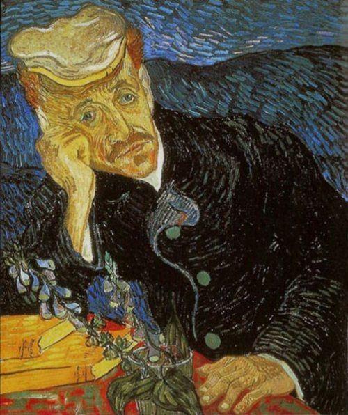 Portrait of Dr. Gachet