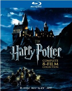 Harry Potter Blu-ray Boxed Gift Set