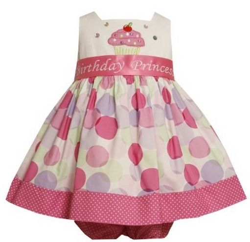 Bonnie Baby Cupcake Dress