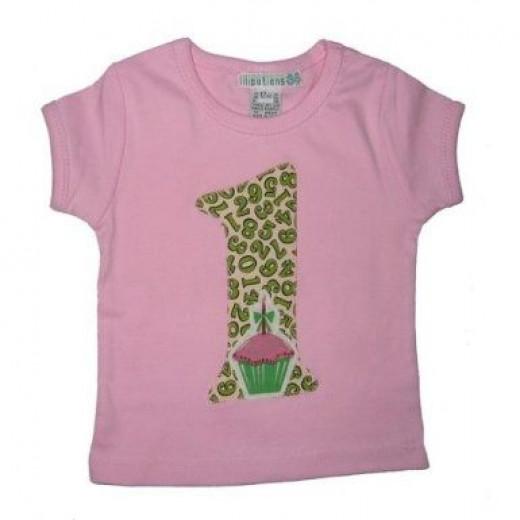 Liliputians Birthday Cupcake T-Shirt
